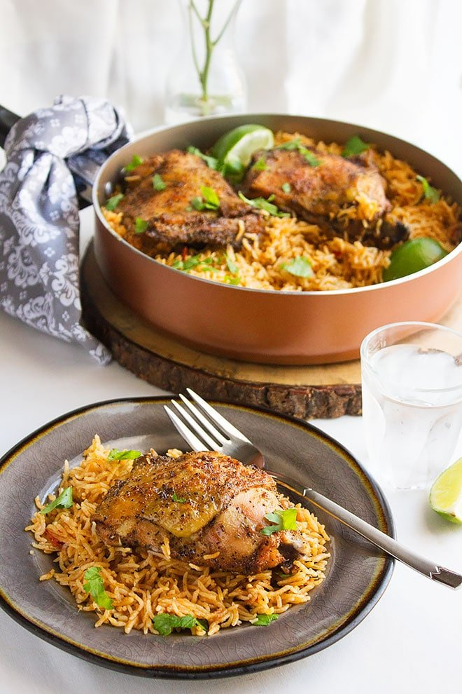 Mexican Chicken and Rice 3
