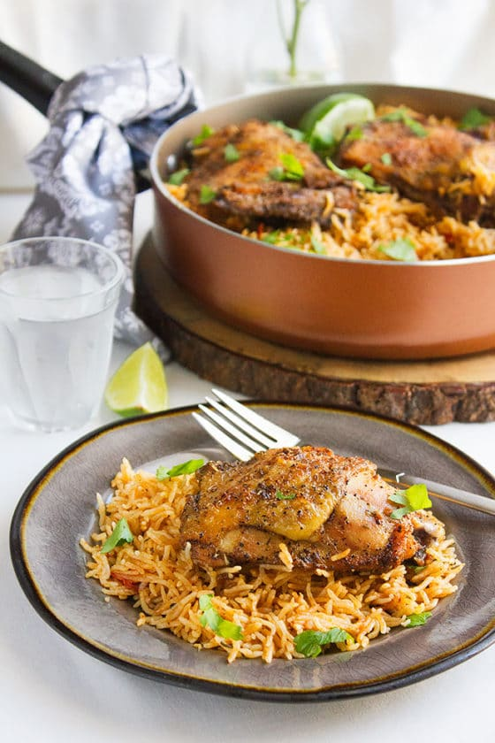 Mexican Chicken and Rice 4