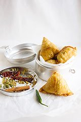 Punjabi Crunchy Beef Samosa