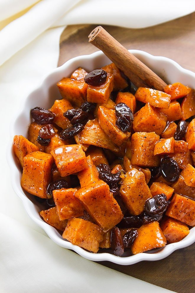 sweet potato raisin butter 3