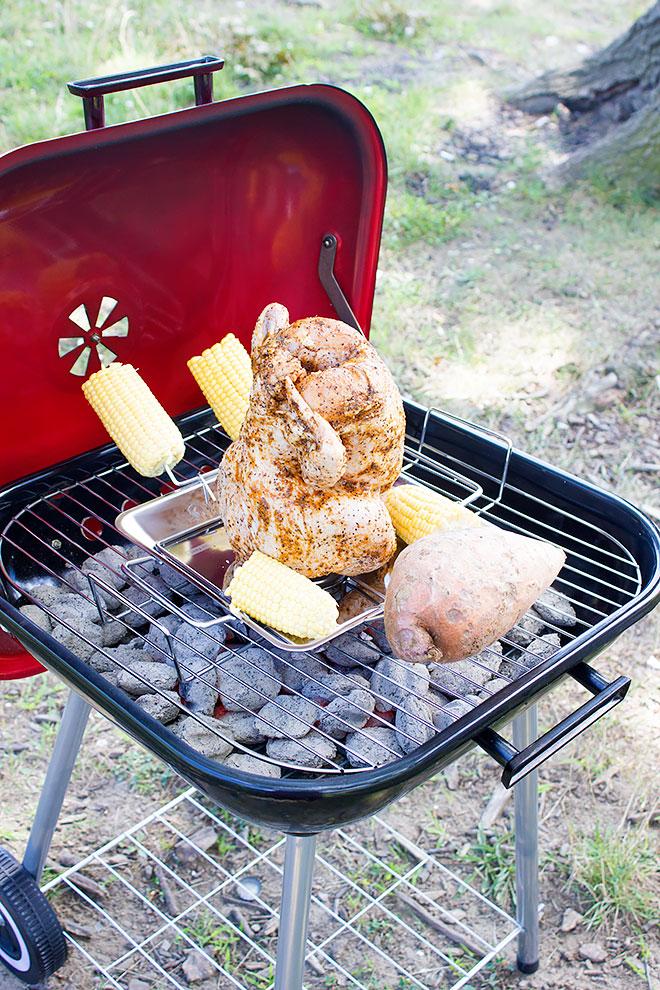 beer chicken grilling method 7