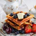 bluebery waffles 2