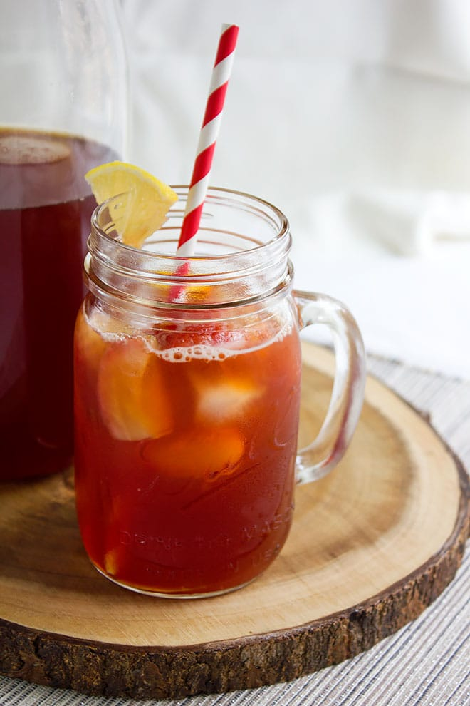 strawberry iced tea 6