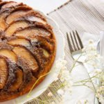 peach apple upside down cake feature