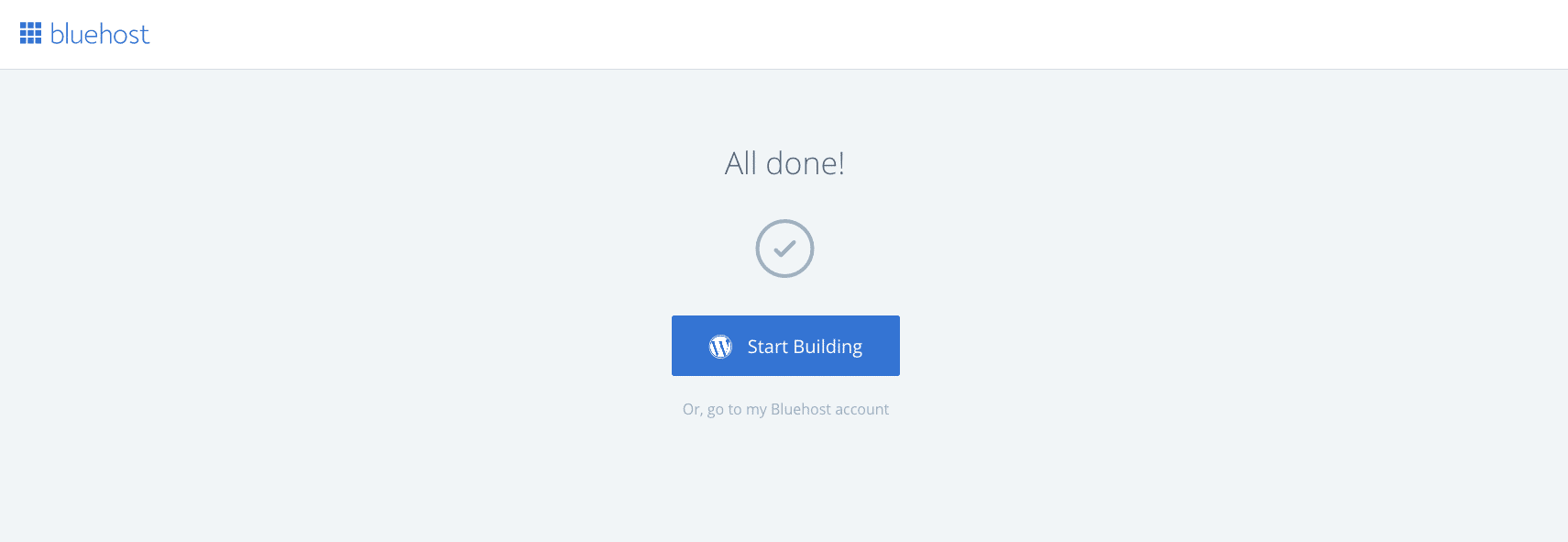 How to Setup Your Account On Bluehost 10