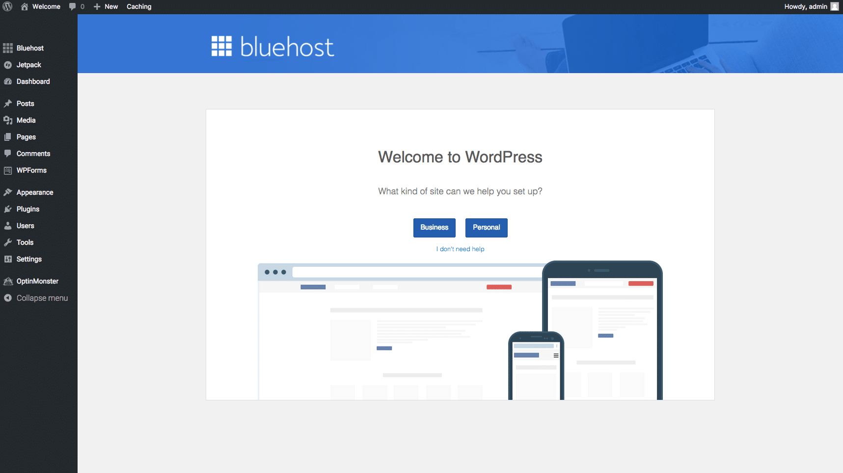 How to Setup Your Account On Bluehost 11