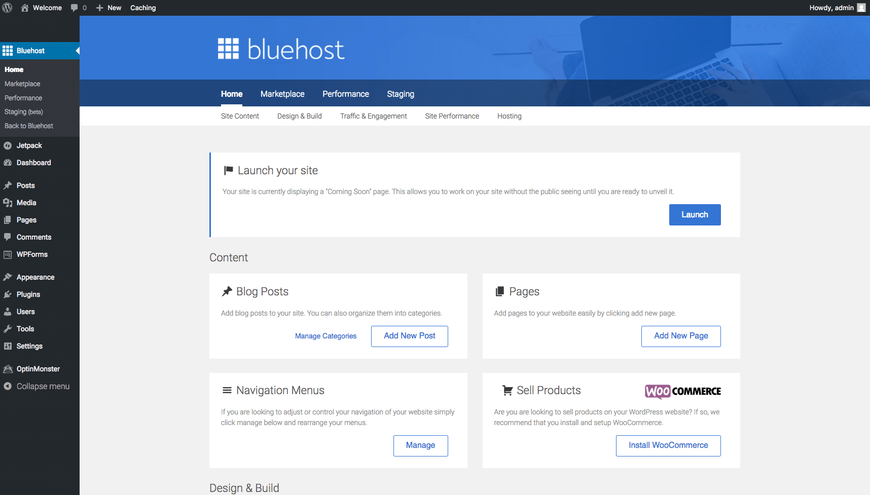How to Setup Your Account On Bluehost 12