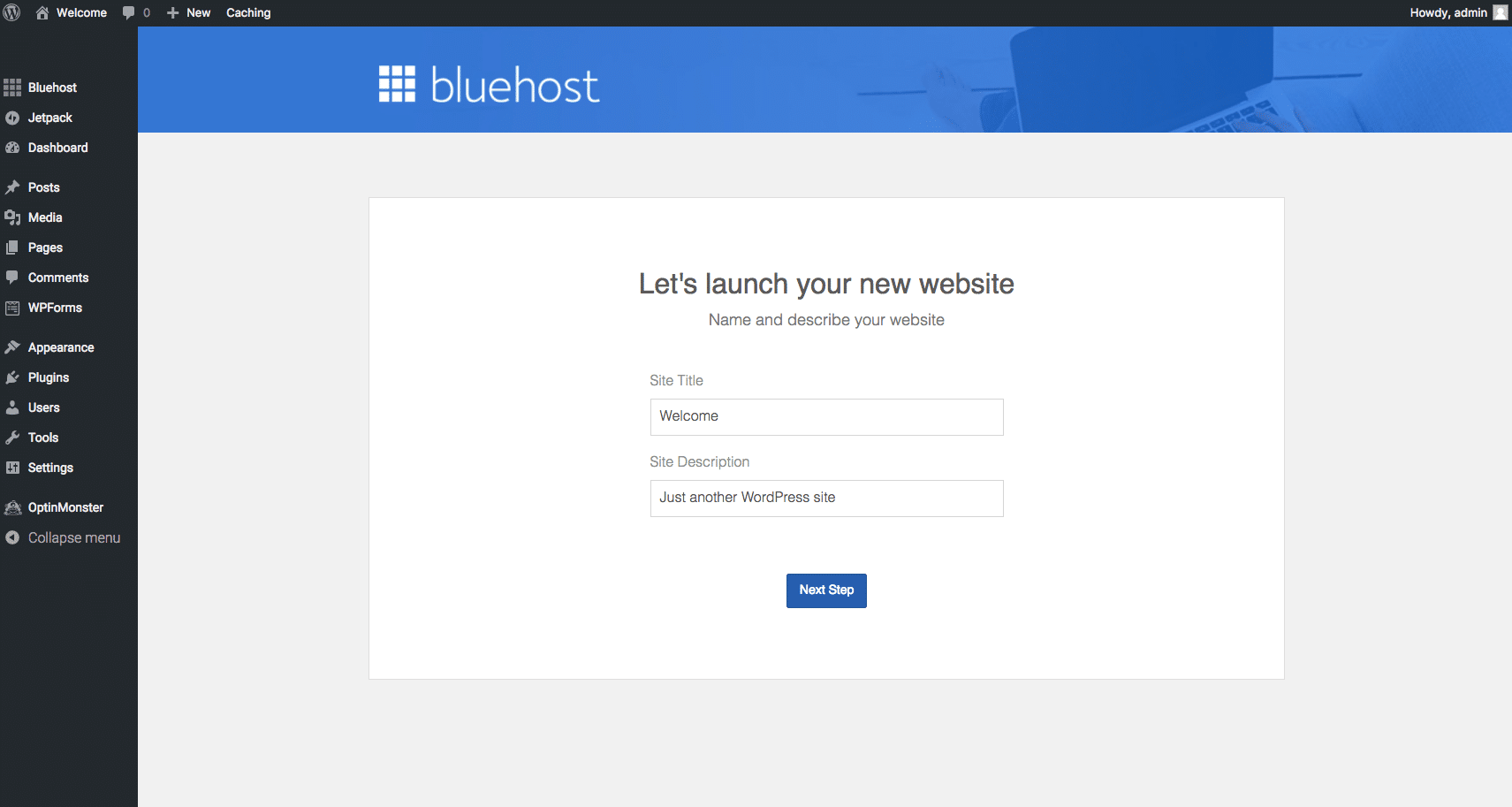 How to Setup Your Account On Bluehost 13