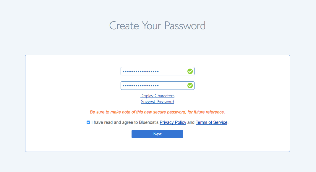 How to Setup Your Account On Bluehost 7