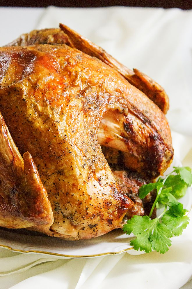 Roasting A Frozen Turkey. Learn how to roast a frozen turkey while keeping it juicy and tender, plus the recipe for silky gravy made to match the great flavors from the turkey. Roast the perfect turkey. www.munatycooking.com | @munatycooking