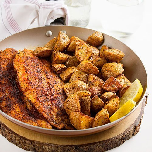 Pan Fried Fish. Learn how to make perfectly seasoned shallow fried fish. A healthy, quick dinner recipe. Delicious fish fillet, shallow fried in butter and olive oil. Serve with mashed or roasted potato. Your family will love it. www.munatycooking.com | @munatycooking