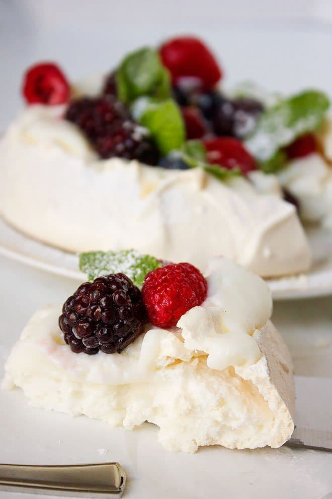 Pavlova recipe for a delightful treat.