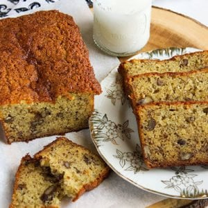 A featured image 500x500 of banana bread recipe