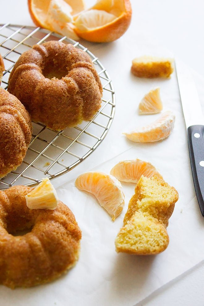Tangerine Cake. Tangerine zest and juice were used to make this outstanding moist cake. This tangerine cake stays moist and flavorful for days. Heavenly If served with ice cream. www.munatycooking.com | @munatycooking
