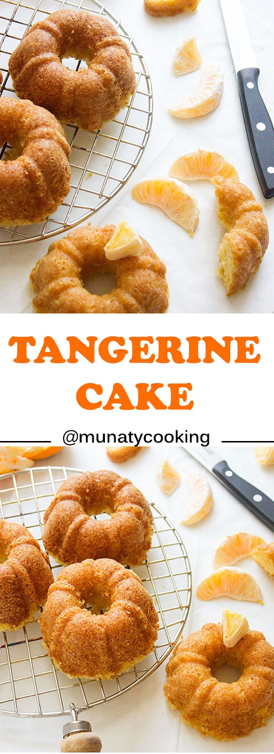 Tangerine Cake. Tangerine zest and juice were used to make this outstanding moist cake. This tangerine cake stays moist and flavorful for days. Heavenly If served with ice cream.