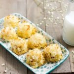 feature image for coconut macaroons