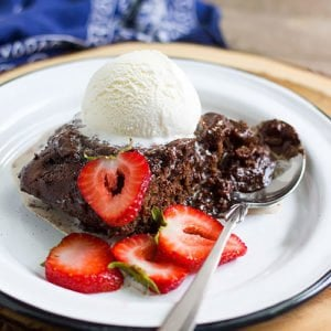 chocolate self saucing pudding feature image.