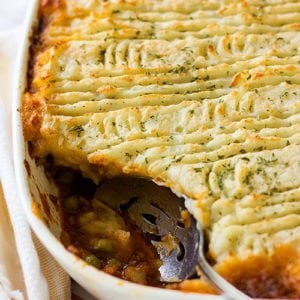 Feature image for shepherd's pie post.