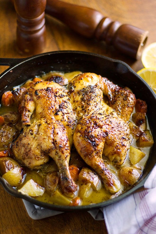 Roast Chicken A Delish Skillet Dinner Munaty Cooking