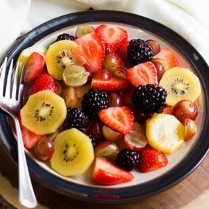 Featured image for fruit salad post.