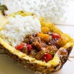 Hawaiian chicken recipe feature image.