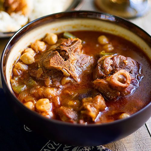 Tunisian lamb stew feature image