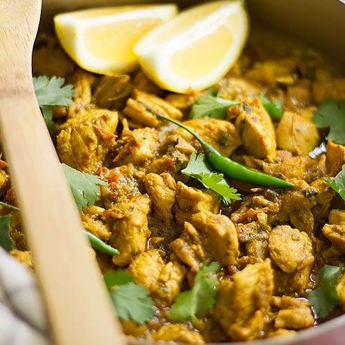 Chicken Karahi recipe feature image.