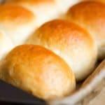 Pav dinner rolls feature image.
