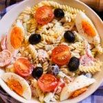 Tuna pasta salad feature image