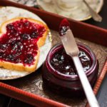 Feature image of berry fridge jam.
