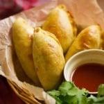 Small image of chicken empanadas recipe.