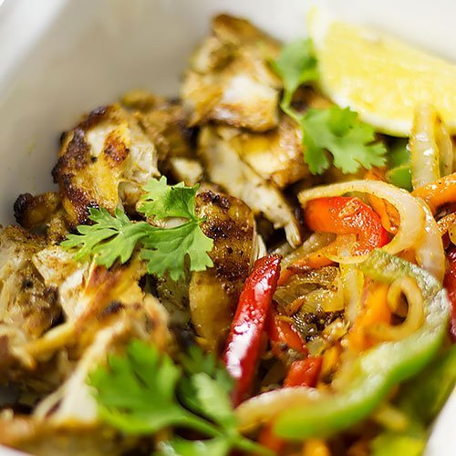Chicken Fajitas Post feature image.