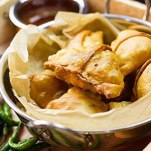 Chicken Samosa feature image