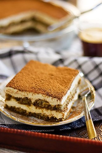 Creamy dreamy tiramisu recipe.