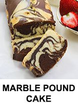 Marble Pound Cake