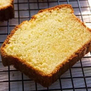 Small image of pound cake slice.