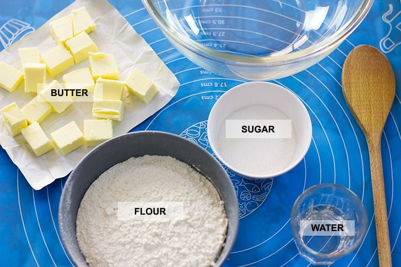 Image showing pie crust ingredients.
