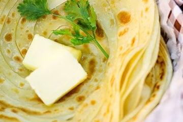 Small image of paratha bread.