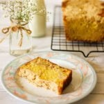 Small image of orange cake with streusel
