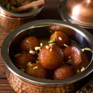 A small image of bread gulab jamun.