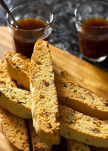 Small image of anise pistachio biscotti image