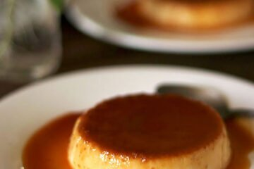 a feature image for creme caramel